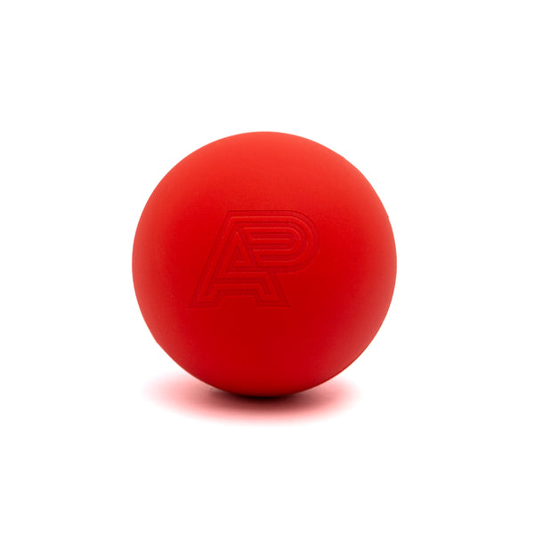 A&P MASSAGE/LACROSSE BALL RED
