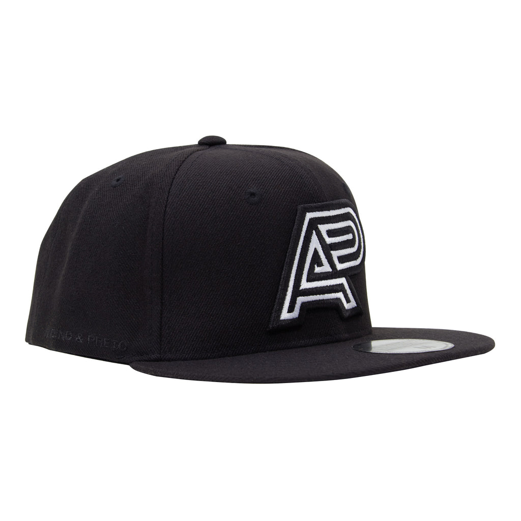 A&P CLASSIC LOGO HAT BLACK-WHITE (HOUSE)