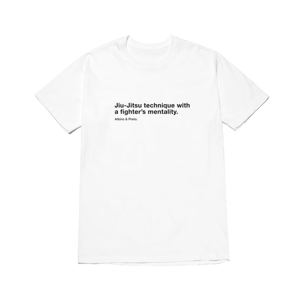 A&P TECHNIQUE VS FIGHTER TEE WHITE