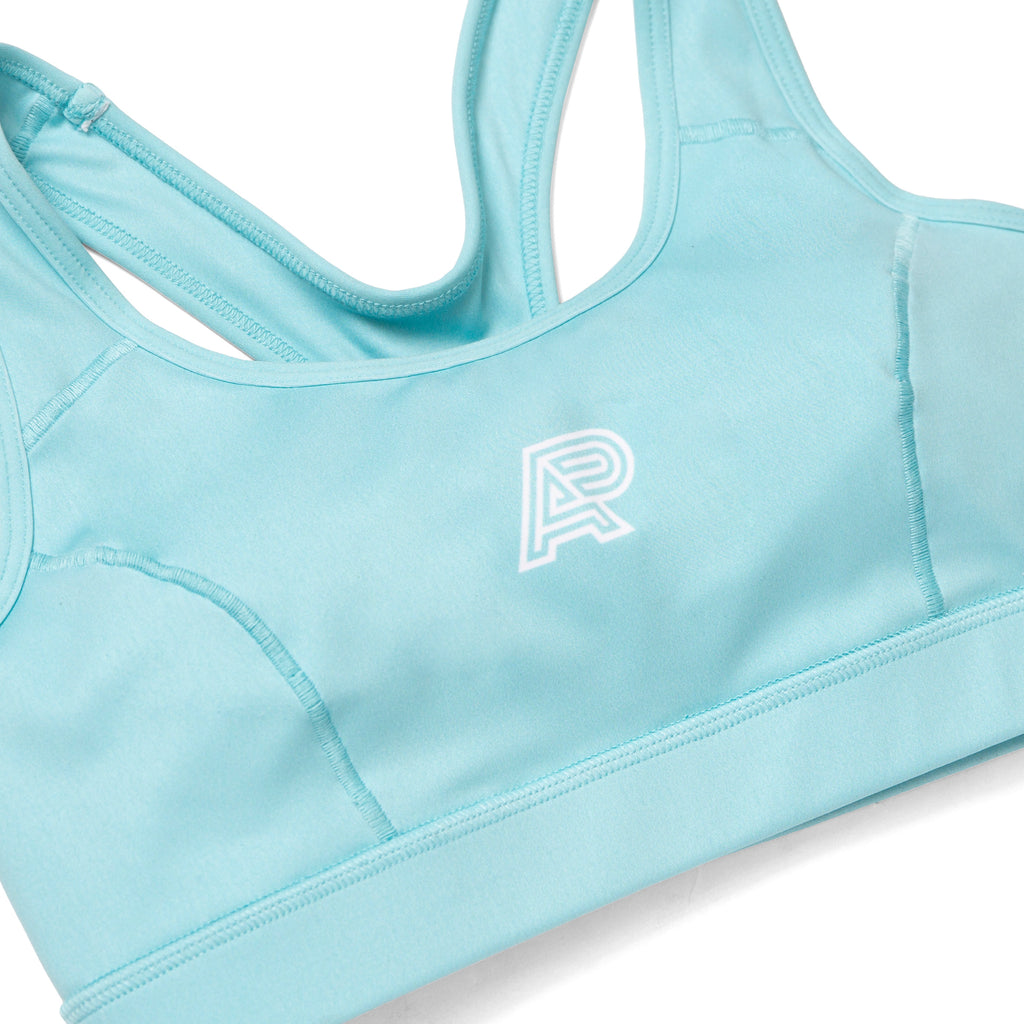 A&P WOMENS SPORTS BRA TURQUOISE (HOUSE)
