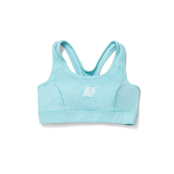 A&P WOMENS SPORTS BRA TURQUOISE