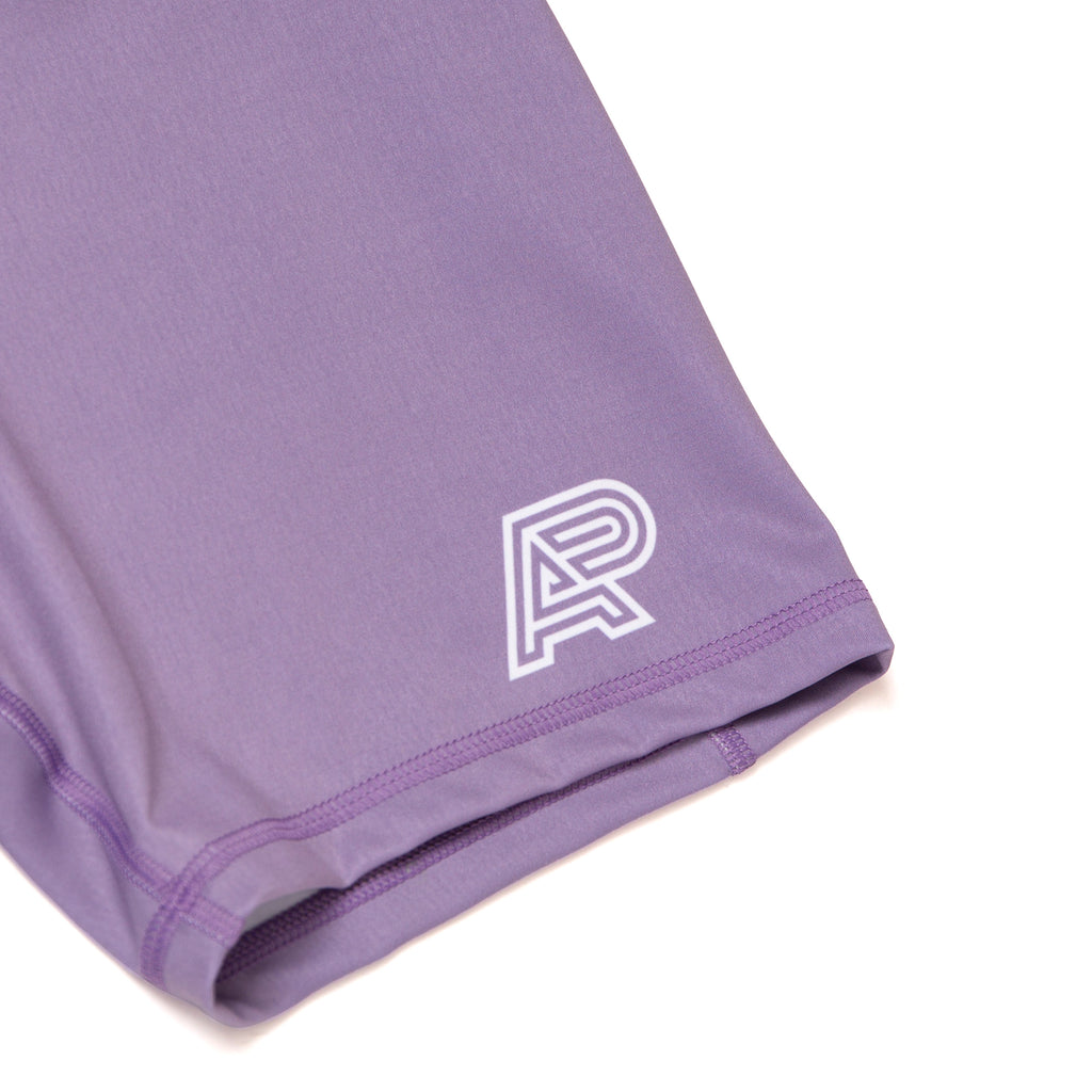 A&P WOMENS COMPRESSION SHORTS LAVENDER