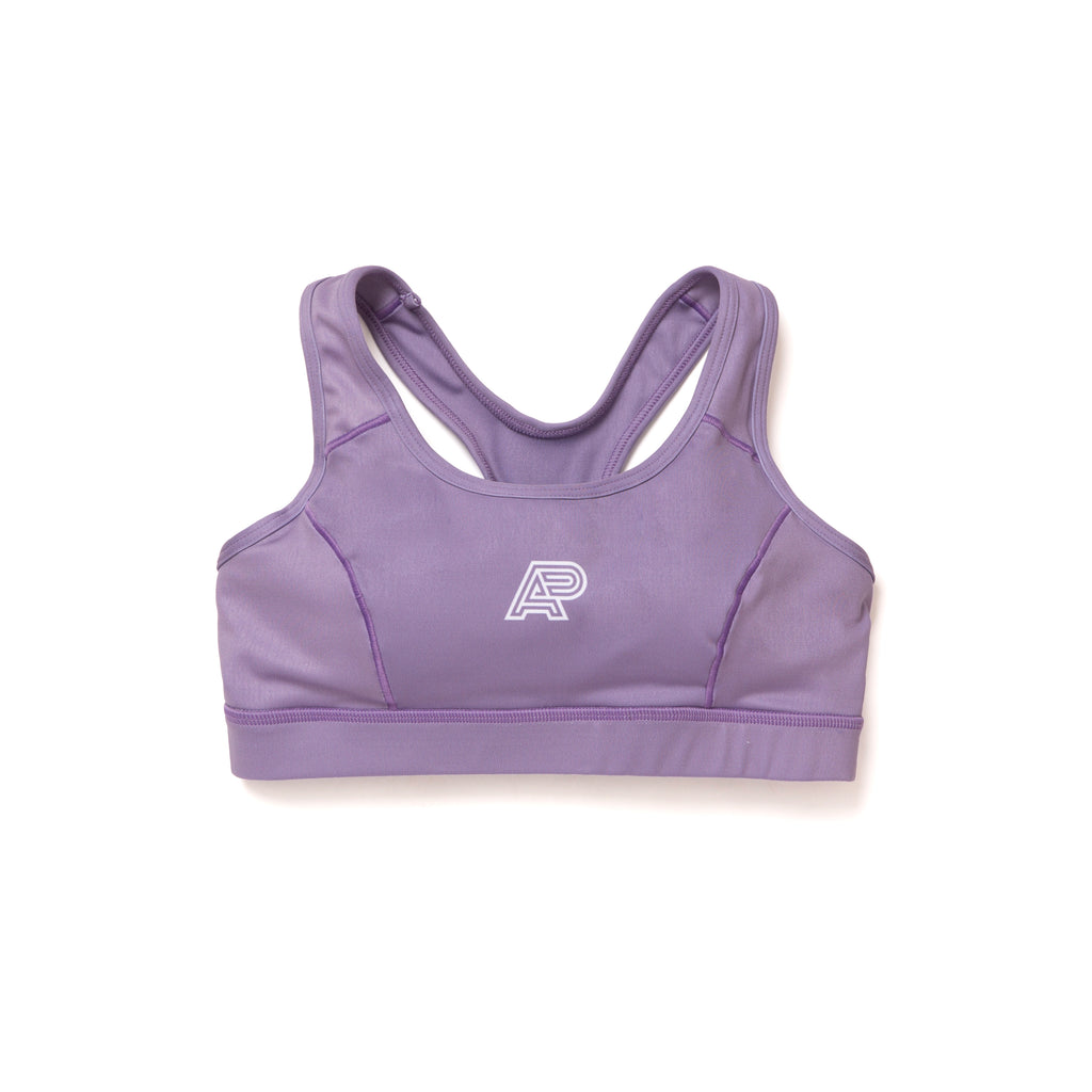 A&P WOMENS SPORTS BRA LAVENDER