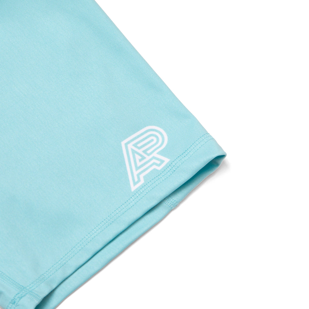 A&P WOMENS COMPRESSION SHORTS TURQUOISE