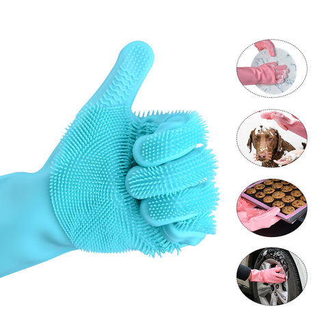 Double Sided Dish-washing Scrubber Cleaner Uses