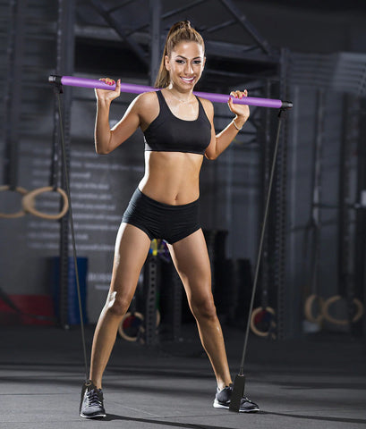 Home Fitness Toning Bar Fit Lady