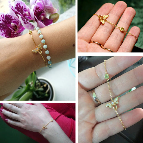 honey bee charm bracelet happy customers