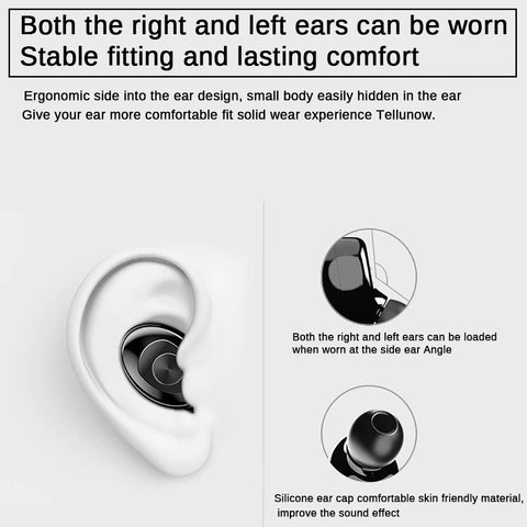 TWS Wireless Mini Earphones Suitable Use