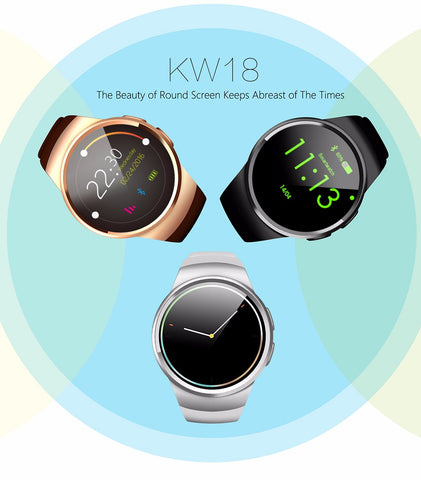 KW18 Android Smartwatch