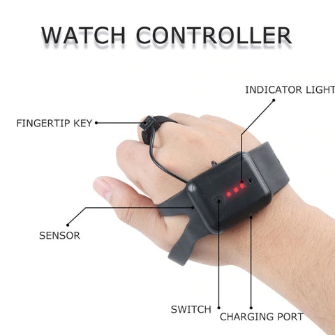 Gesture Sensor RC Stunt Car Watch Controller