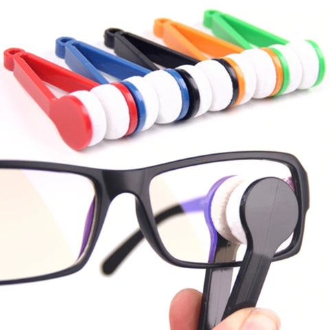 Microfiber Eye Glasses Cleaner Brush