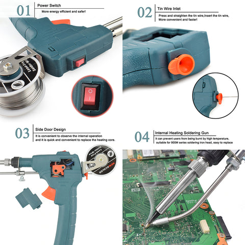How to assemble and operate automatic soldering gun