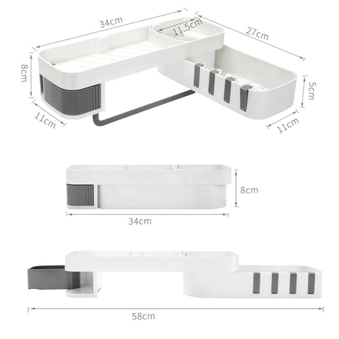 Wall Mounted Storage Rack Dimensions