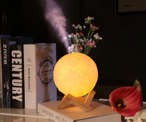 3d moon light aroma diffuser decor