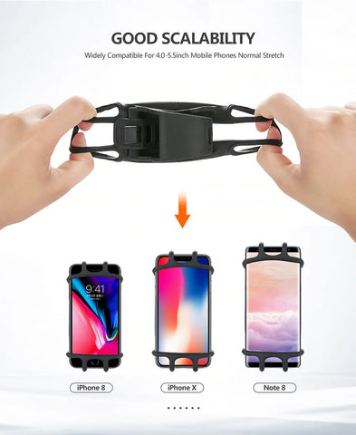 Bike Phone Holder Fits Different Phone Sizes