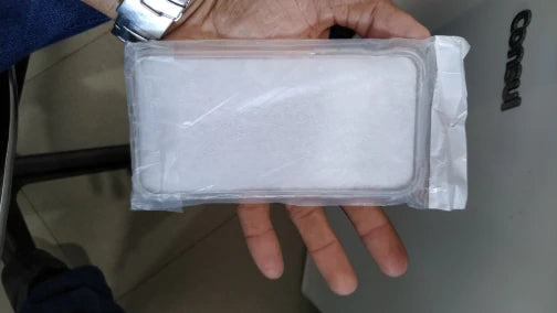 package of transparent phonecase for iPhone