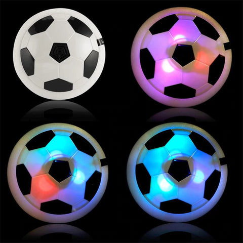 AirPower Indoor Soccer Disc Colored Lights