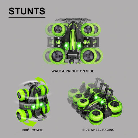 4WD Rock Crawler Remote Control Toy Stunts