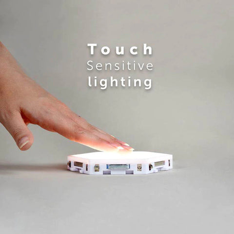 Quantum Hexagonal LED Lamp Touch Sensitive Lighting