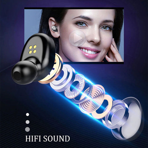 H&A Bluetooth Wireless Earphones