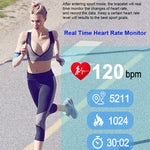 Ppg Ecg Workout Smart Watch