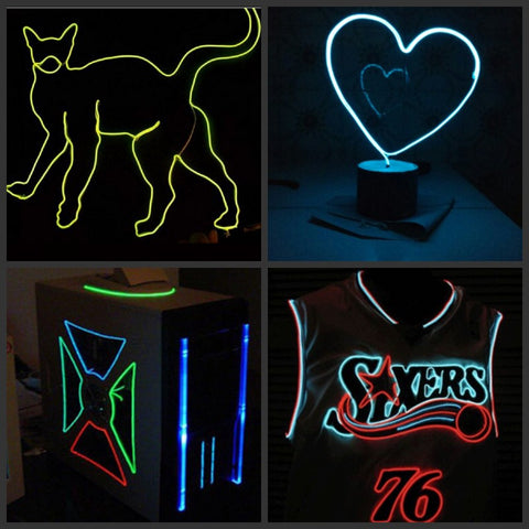 Flexible Neon Wire Glow Light