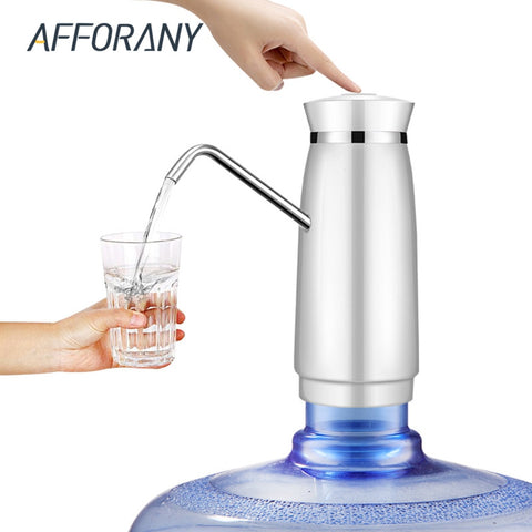 Wireless Rechargeable Water Bottle Pump