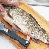 Fish Scaler With Gutter knife