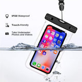 Universal Waterproof Smartphone Pouch Bag
