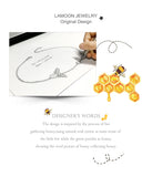 Honey Bee Chain Charm Bracelet