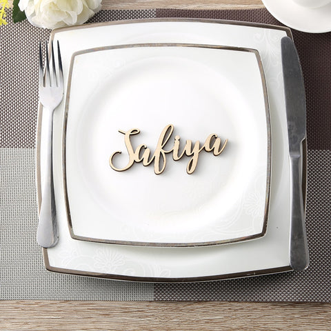 Personalized Party Name Place Card