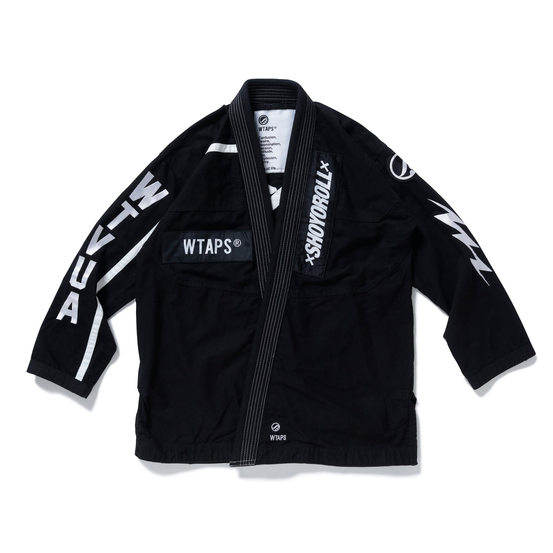 Batch #113 WTAPS Kimono (Black) *Ships to US only