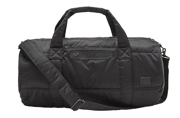 PORTER / SHOYOROLL BOSTON BAG (BLACK)