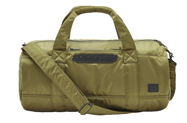 PORTER / SHOYOROLL BOSTON BAG (GREEN)