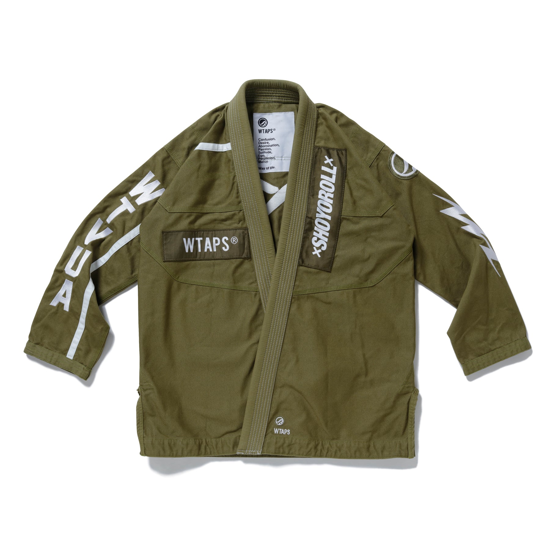 Batch #113 WTAPS Kimono (Olive-Drab) *Ships to US Only