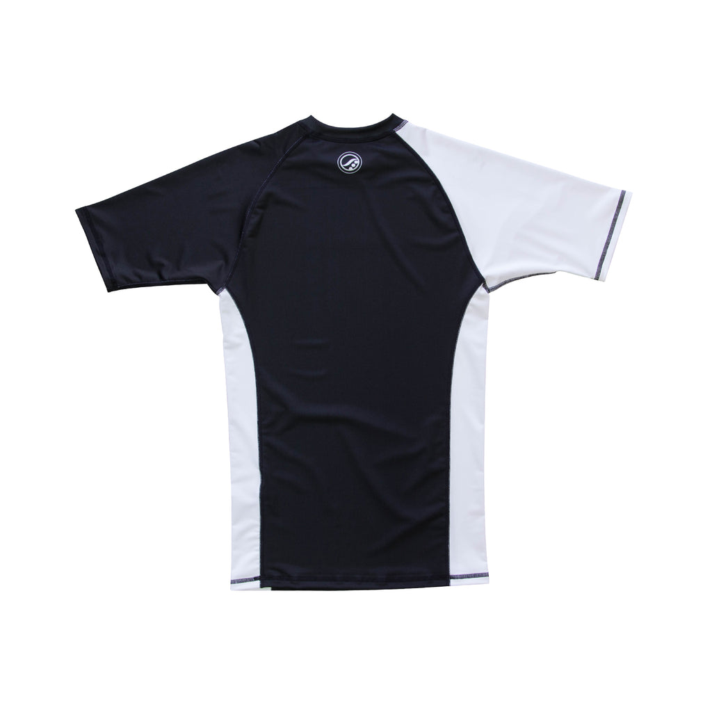 Training Rash Guard SS (RANKQ419) - White