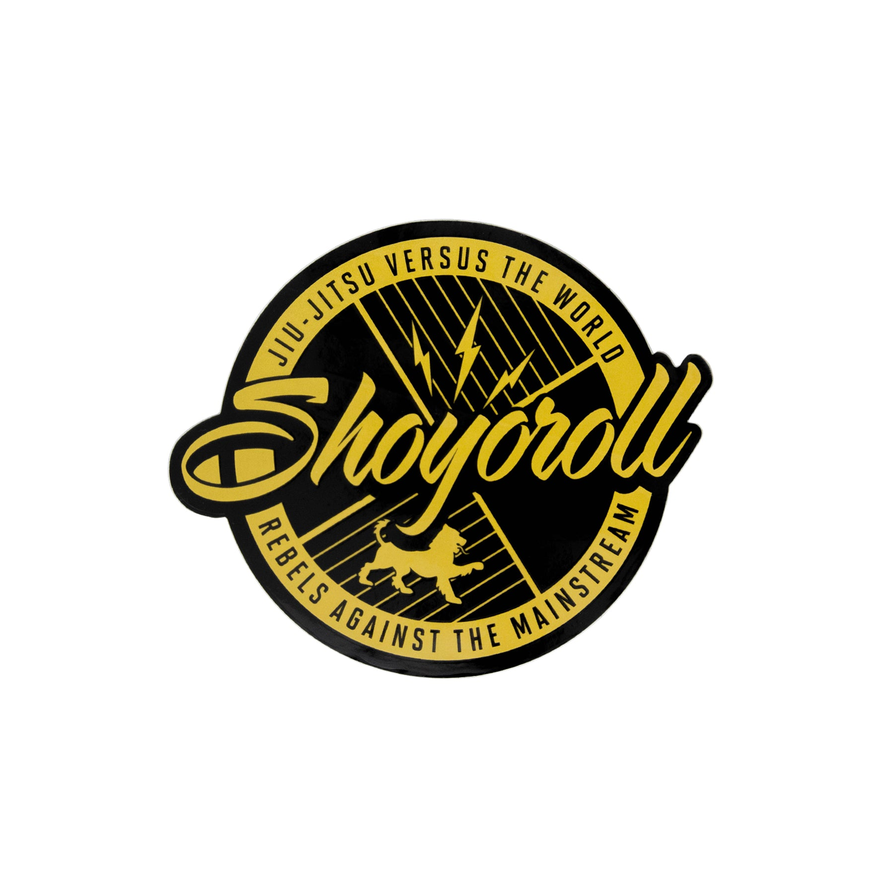Classic Logo Decal (Gold)