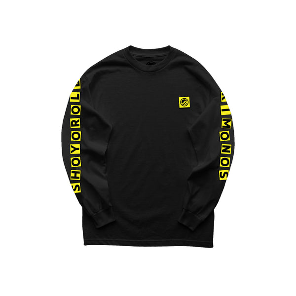 House of Pain LS Shirt- Black