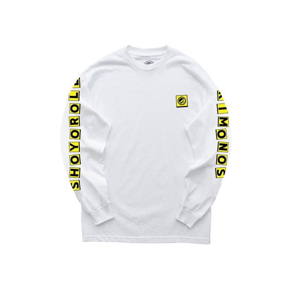 House of Pain LS Shirt- White