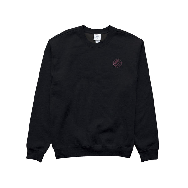 OG Logo Crewneck (CPTR20.10) Black- Embroidered