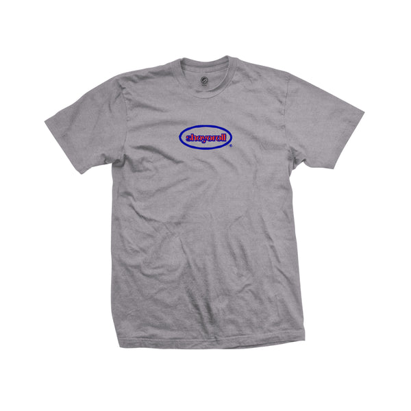 Oval Tee- Heather Grey