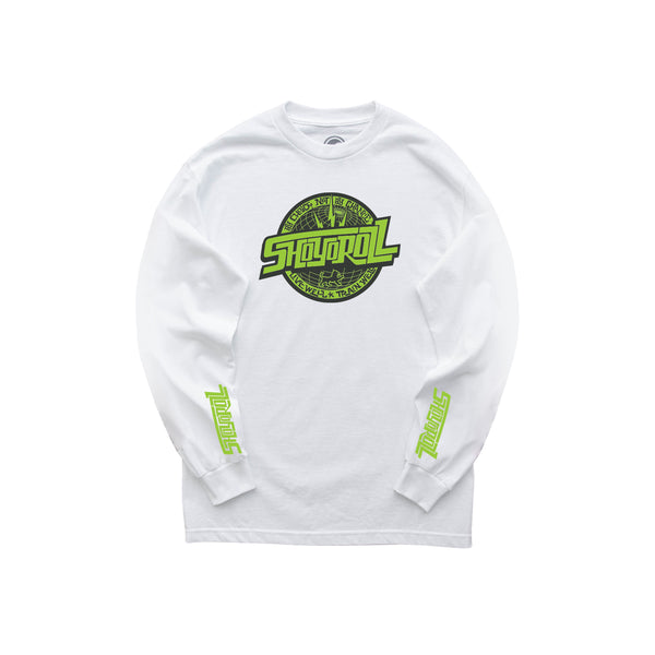 Remix Logo LS Shirt (CPTR21.3) White