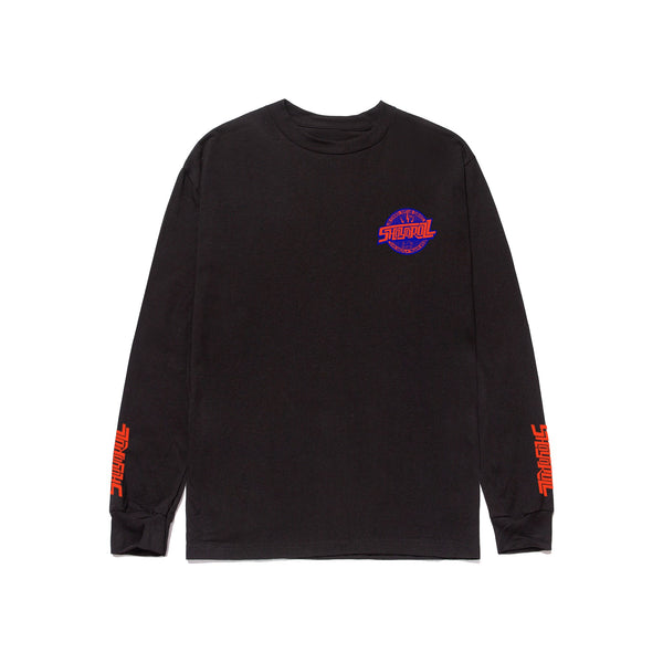 Remix Logo LS Shirt- Black