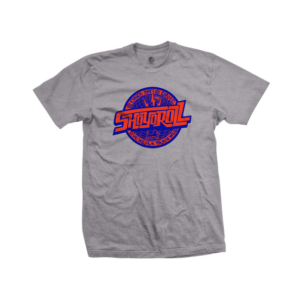 Remix Logo Tee- Heather Grey