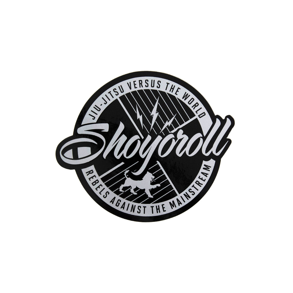 Classic Logo Decal (Silver)