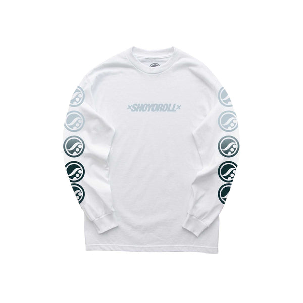 Stamp Logo LS Shirt (CPTR20.8) White