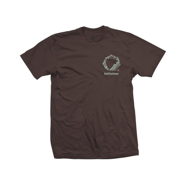 Self Defense Tee (CPTR20.11) Dark Brown