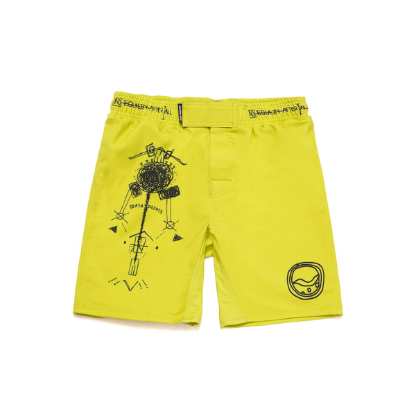 Training Fitted Shorts (VITAL) Yellow
