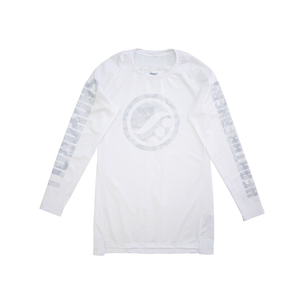 Training Rash Guard LS (SYR x Bedwin) White