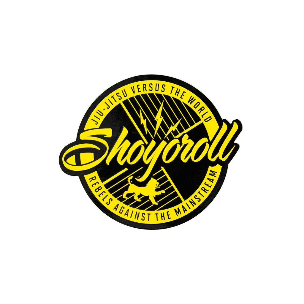 Classic Logo Decal (Yellow)